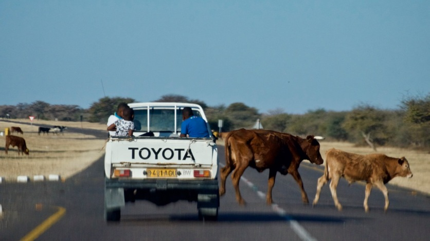 "Take only pictures, leave only footprints"" – Namibia and"